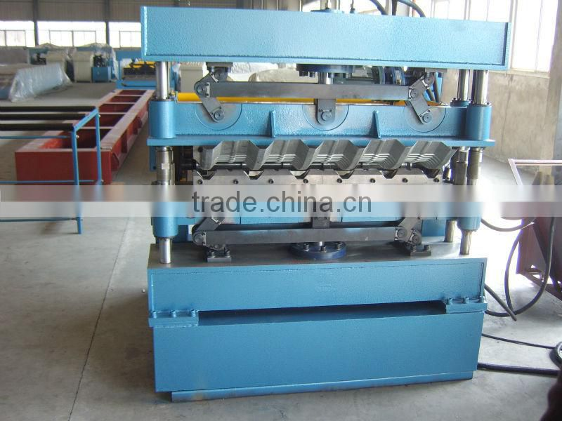 curving roll machine for roof