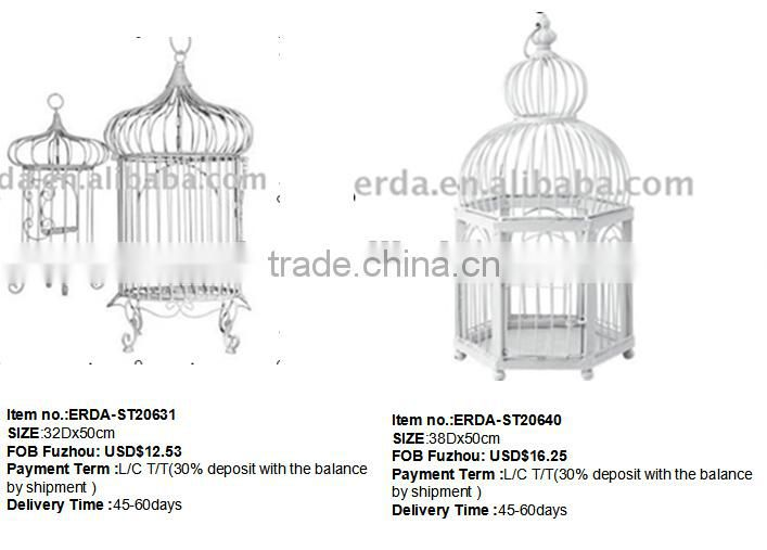 Factory Direct Supply metal birdcage for Wedding Decorate
