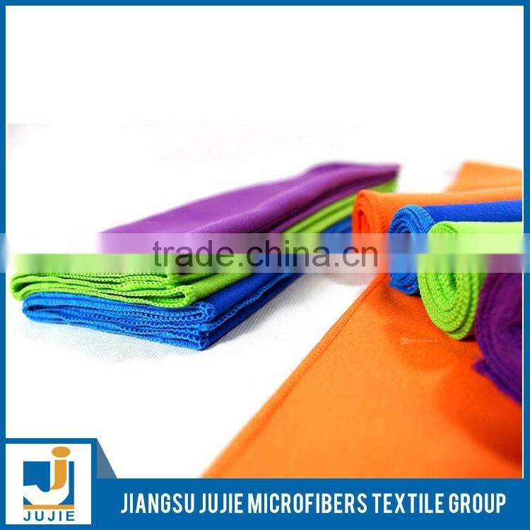 2016 superfine fiber dry absorbent sports towel