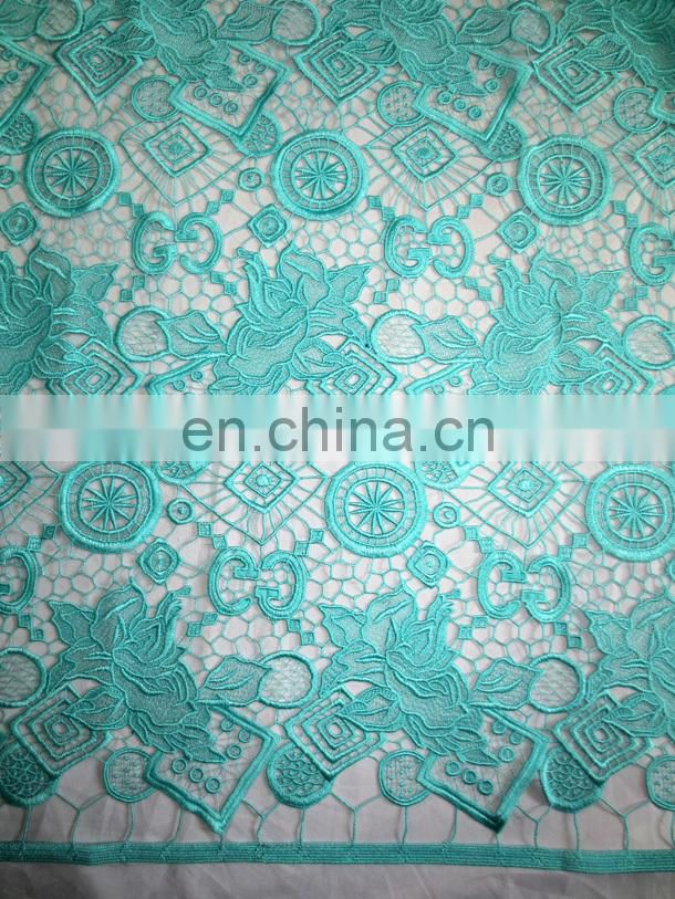2016guipure lace for wedding party Chemical lace for dress materialWholesale guipure lace