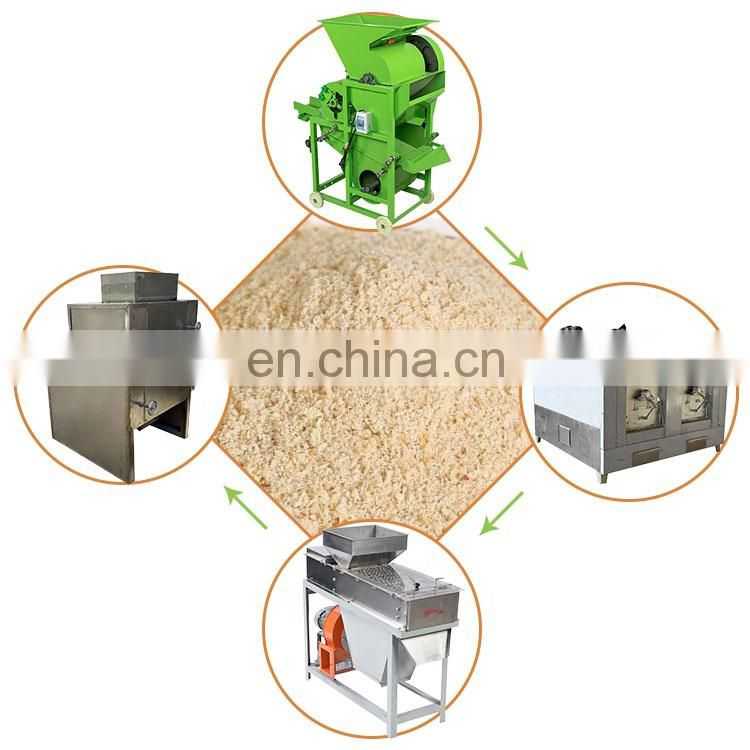stainless steel large capacity cashew nut peanut roasting machine Image