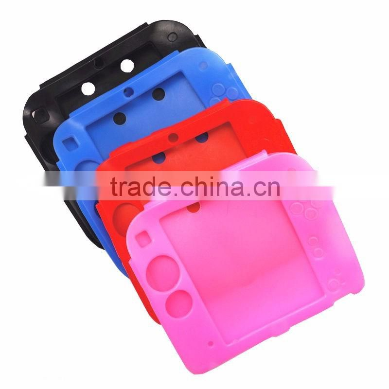 Soft Silicone Full Protective Gel Pouch Case Cover for Nintendo 2DS Console Silicone case