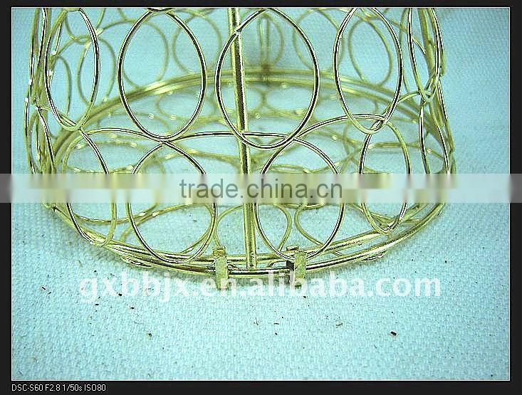 Gold iron wire decorative small ice cream craft