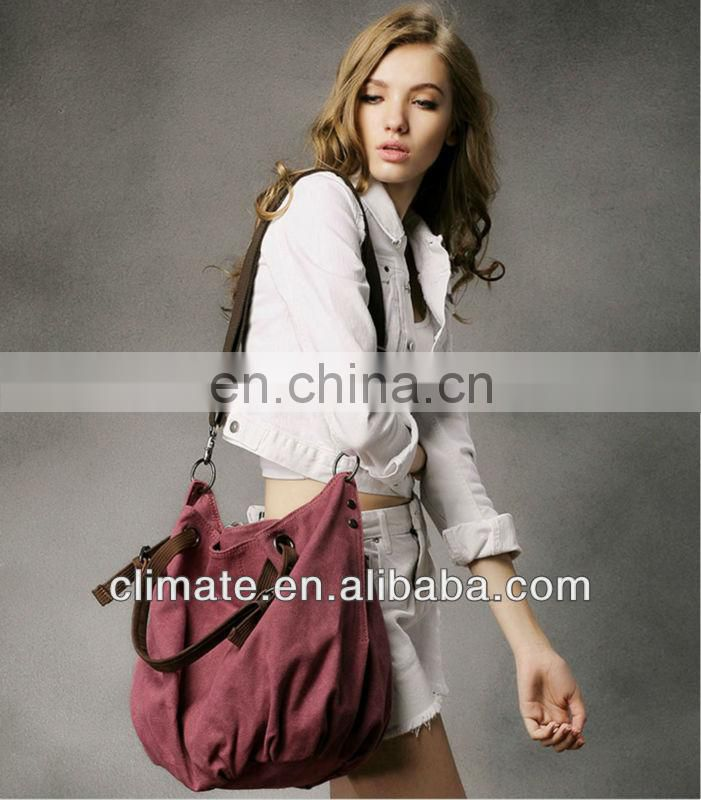 Fashion canvas bag for women