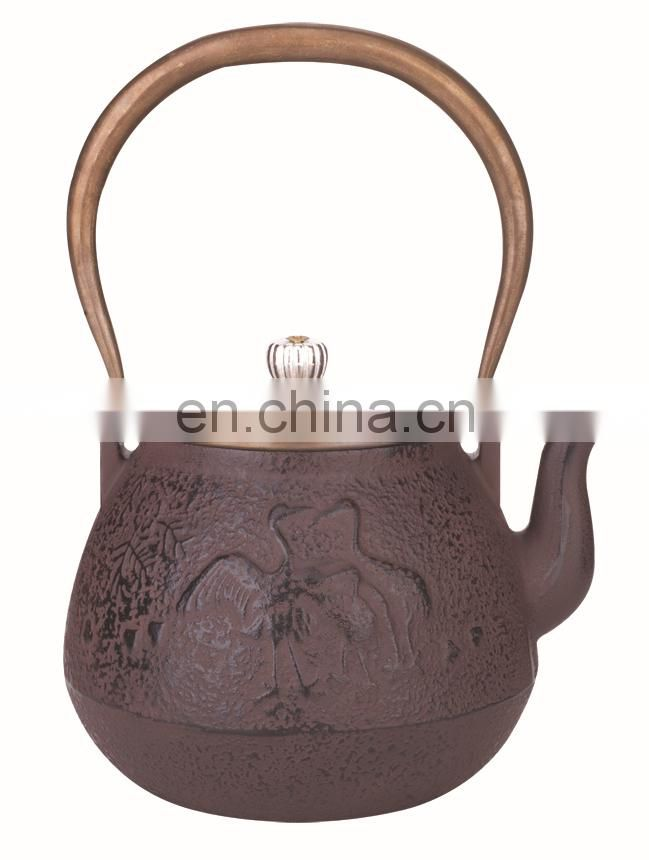 cast iron teapot 0307