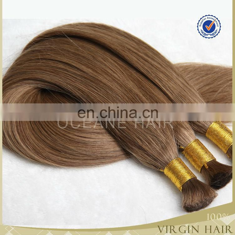 First quality luxury blonde brazilian hair weave color 27