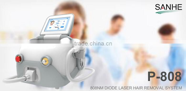 Permanent hair removal 808nm diode laser portable diode laser hair removal for salon use