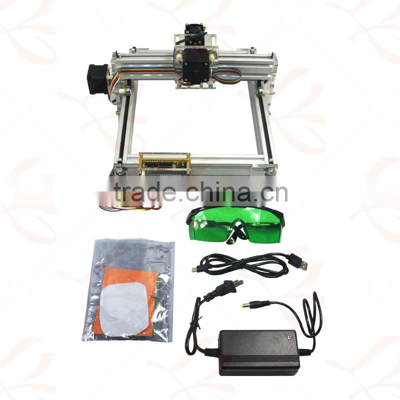 LY 2017 1500mw Laser Engraving Machine Mini DIY Laser Engraver IC Marking Printer Carving