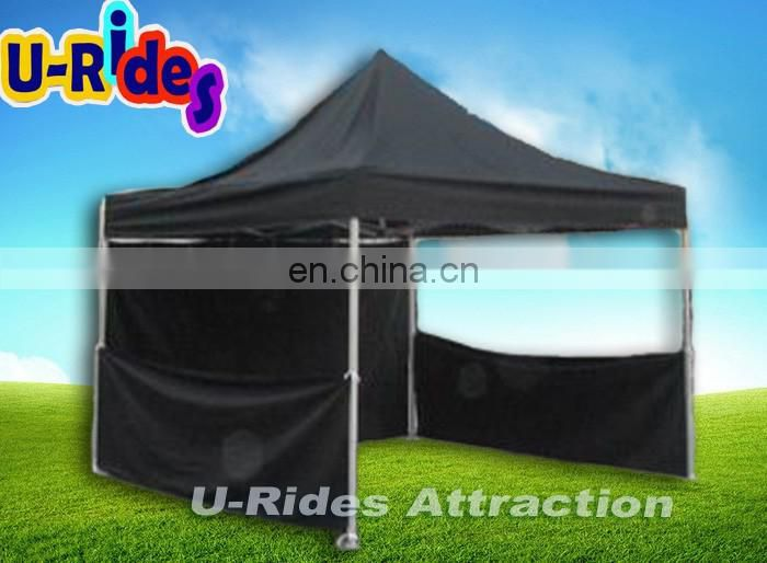 Black color 3 by 3 folding tent for events