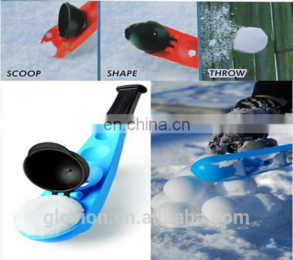 Glovion manual sport nice tool snowball thrower for winter outdoor activities