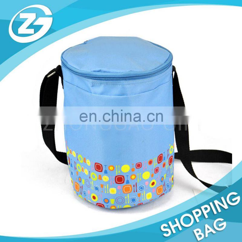 Custom Logo Fashionable Recycled Travel Large Capacity Leakproof Thermo Lunch Kit Insulated Cooler Bag