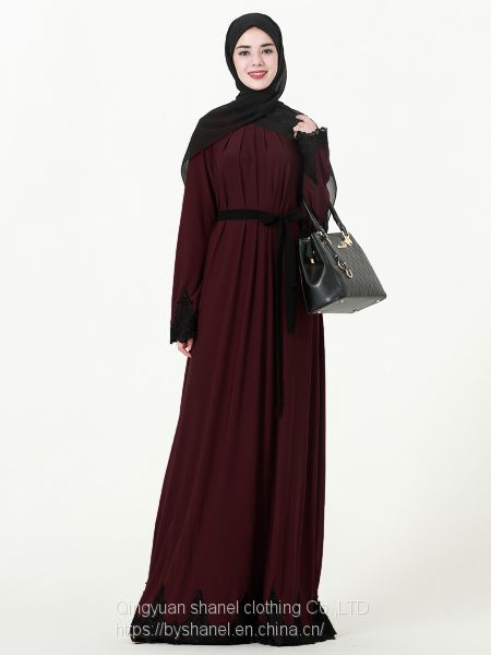 Fashion Muslim Kaftans Abaya Dress for Women Image