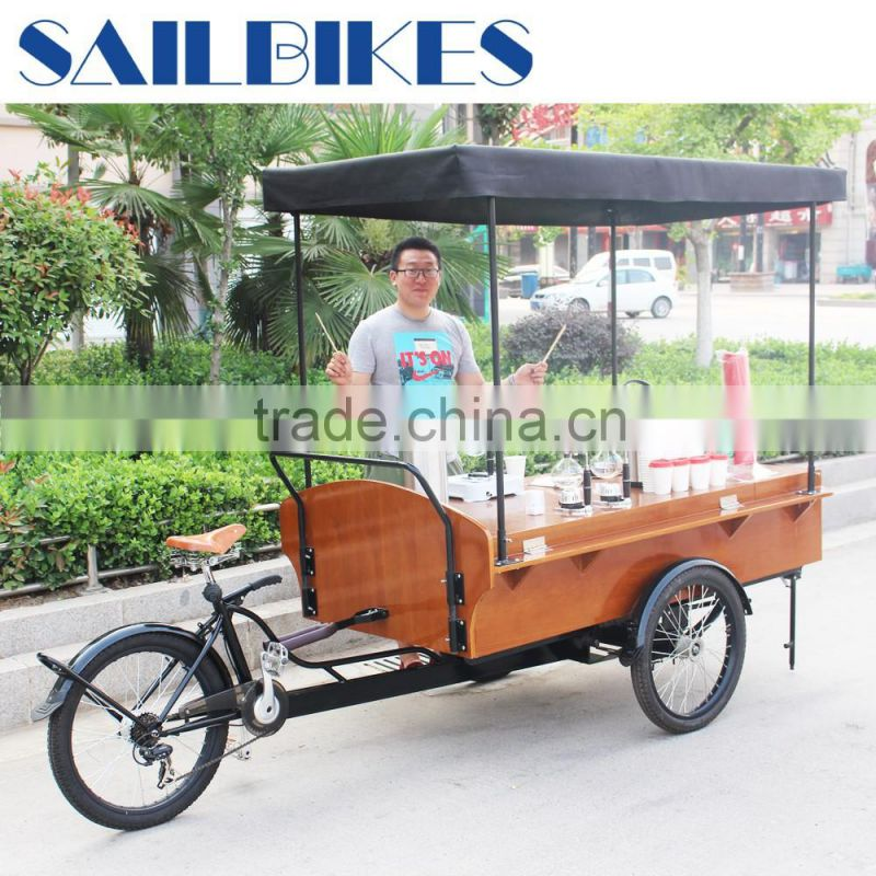 China Golden Supplier Jxcycle Electric Coffee Tricycle JX T04 For