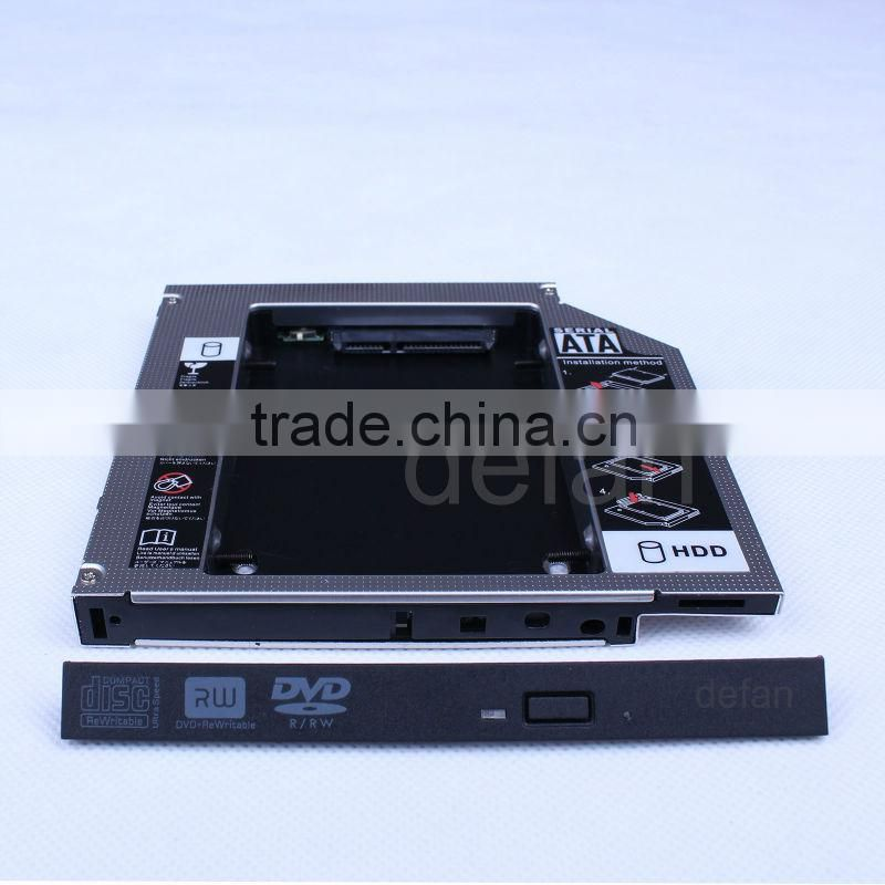 2nd SATA Hard Drive HDD Caddy Adapter 2.5 enclosure For Acer Aspire 7741 7741G 7741Z 7741ZG