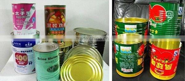 Hot Sell Automatic milk powder canning packing machine