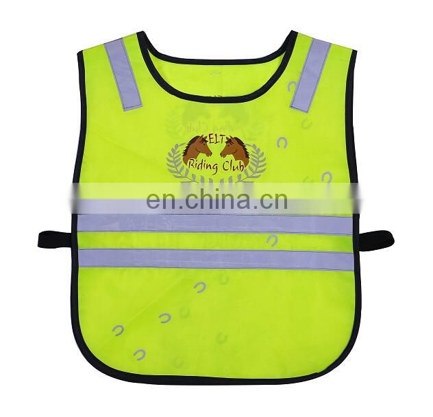 Promotional 3m go to school kids reflective safety vest