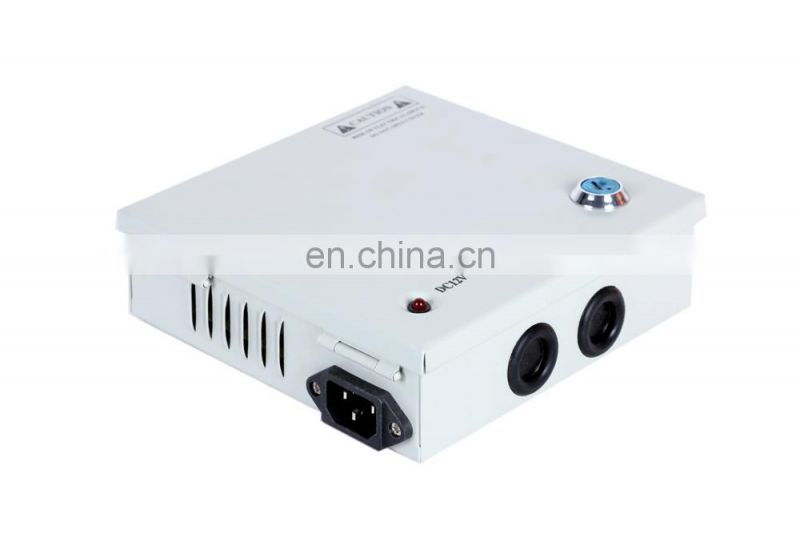 5A 12V CCTV Switching Power Supply 60W , centralized power supply for cctv