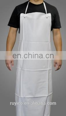 disposable PVC heavy duty work apron for food processing