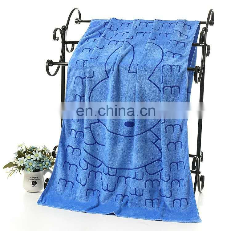 Cheap price printing design 80% polyester and 20% polyamide microfiber towel