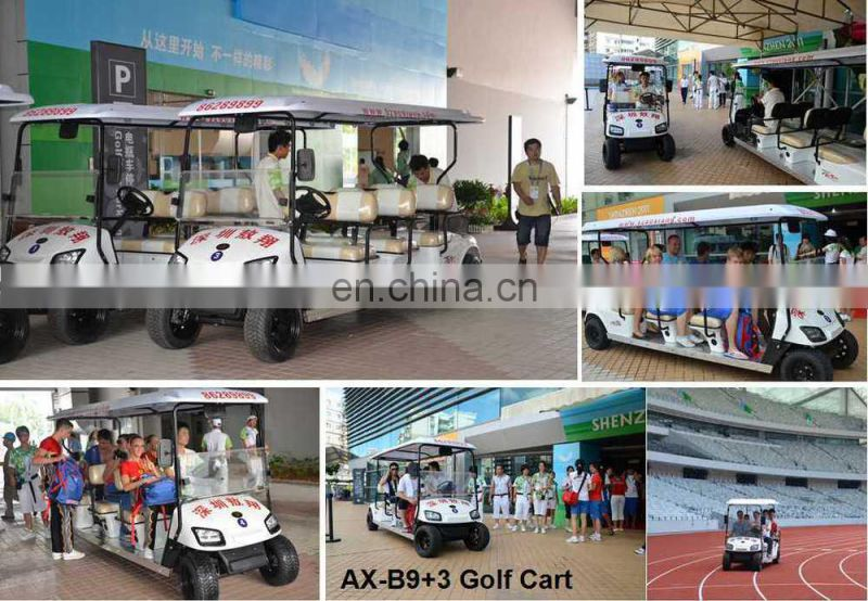Hoooot! Electric 12 Seats Van, 3KW 48V Electric Van for 26TH Summer Universiade| CE Certified | AX-B9+3