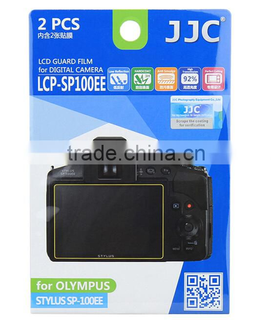 PET Screen Protector For Olympus JJC LCP-SP100EE Guard Film Protector For Camera Screen Protector