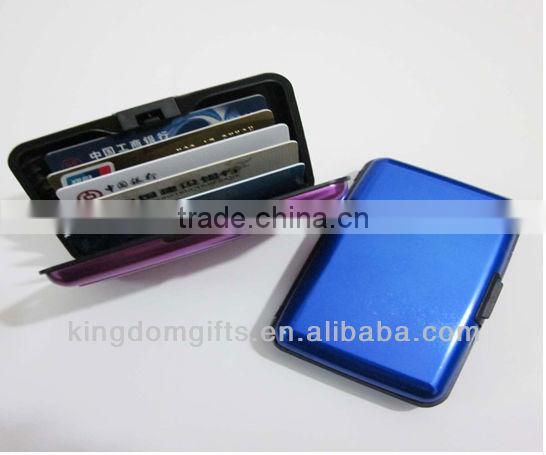 Stylish promotion metal Card holder