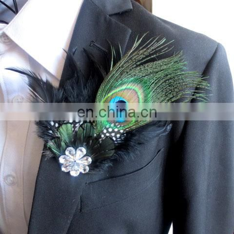 Factory direct sale spot supply top quality peacock feather