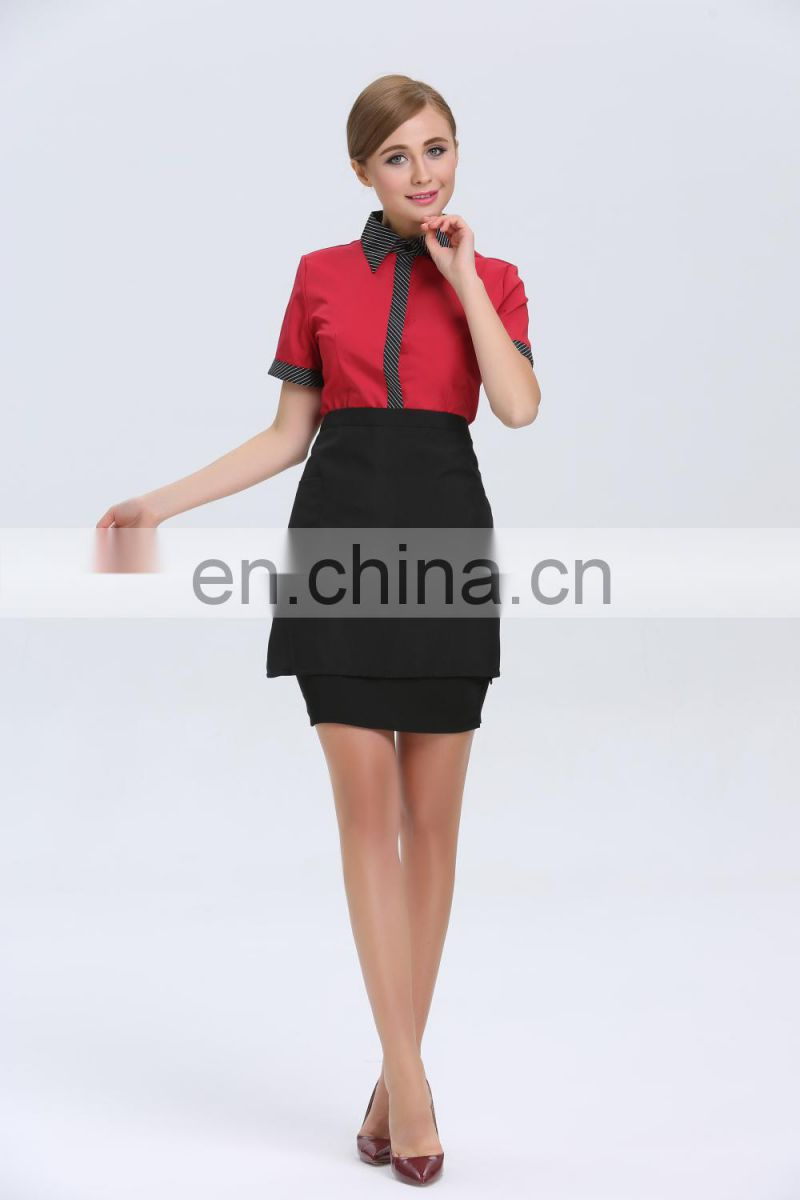 2015 High Quality Hotel Waiter Uniform, Waiter Uniform Design