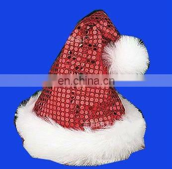 2017 Official Plush Santa Claus Hat and Comfort Liner Christmas Halloween Costume
