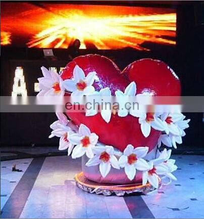 event led inflatable flower, inflatable club lighting balloon decoration for sale, inflatable advertising supplies