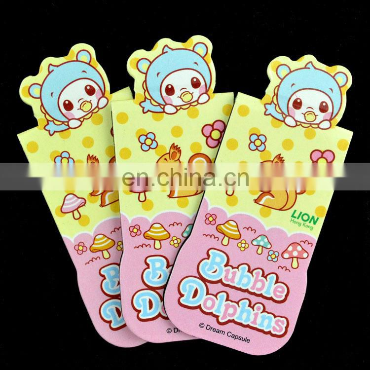 personalized souvenir magnet bookmark for children
