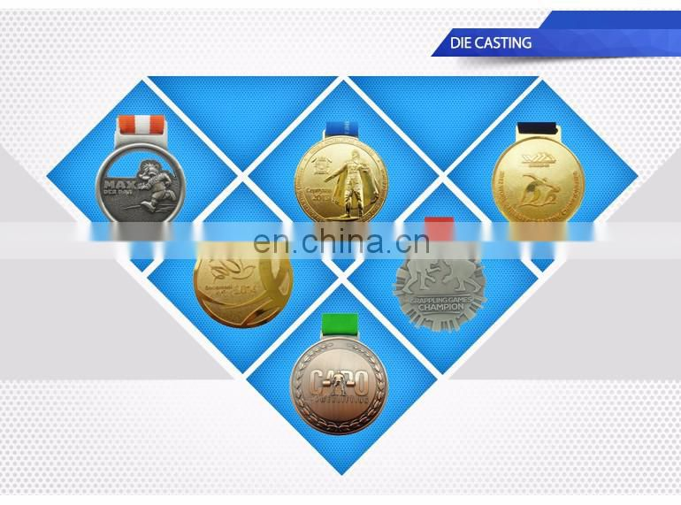 Antique copper plating Cheap custom sport medal awards