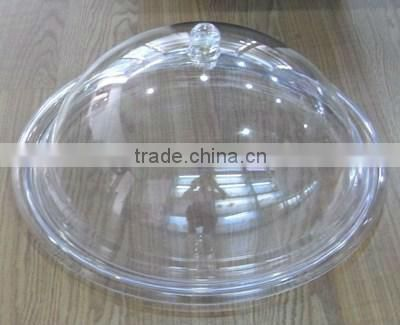 China customized plastic injection transparent lid