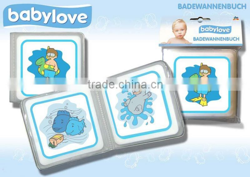Hot sales inflatable bath book for baby,inflatable water book for kids,floating toy book in pool