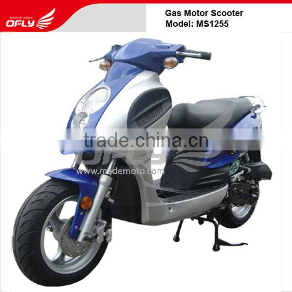 2 Wheels Cheap China-made Motor Scooter Equipped with 125cc Engine