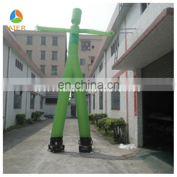 Double Legs Hot sale inflatable sky air dancer dancing man for advertising