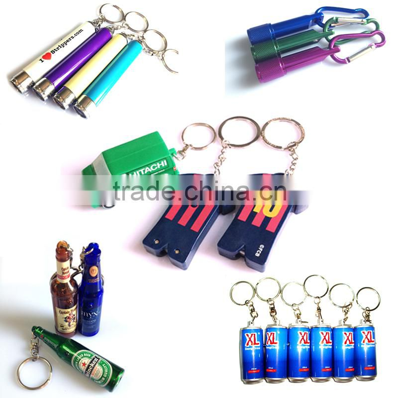 led projector keychain,led flashlight keychain,custom logo keychain,led torch keychain for promotional gifts,mini torch keychain