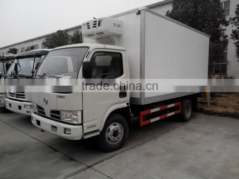 High Quality China brand freezers for trucks, Frozen Meat and Fish Delivery Freezer Truck