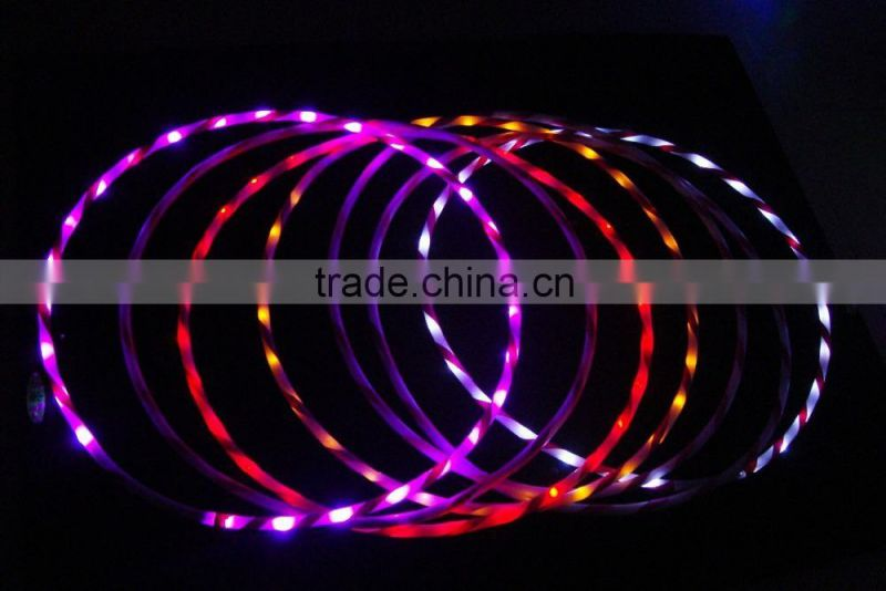 "36"" - 28 Strobing LED Hula Hoop with 7colors light change"