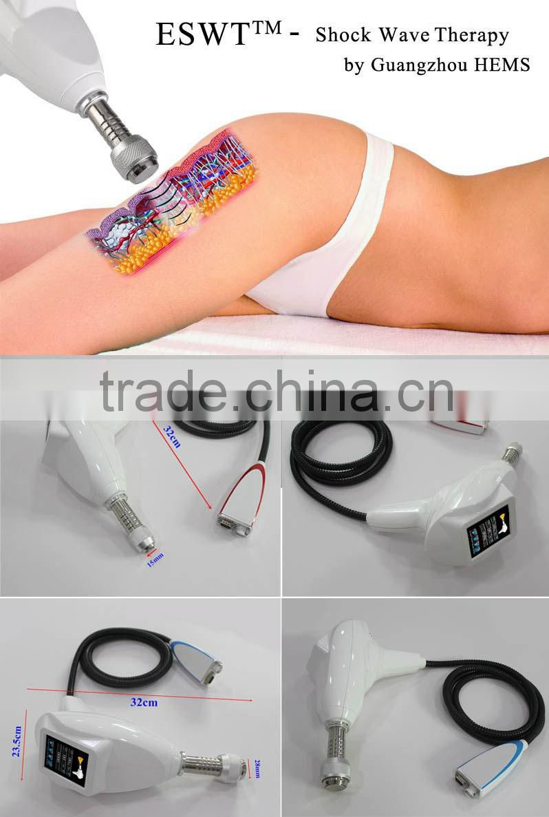 2014 ESWT shock wave body and face slimming machine