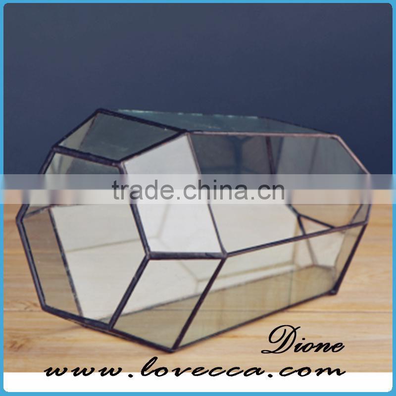 2017 Wholesale In Australia Geometric Glass Plant Terrarium Hanging