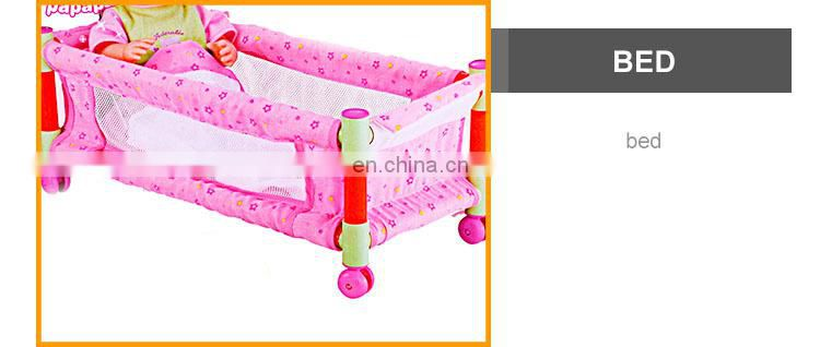 Latest 16 Inch Girl Pee Doll Toy With IC Bed +Quilt +Pillow+ Flip flop+Tools(Battery Included)