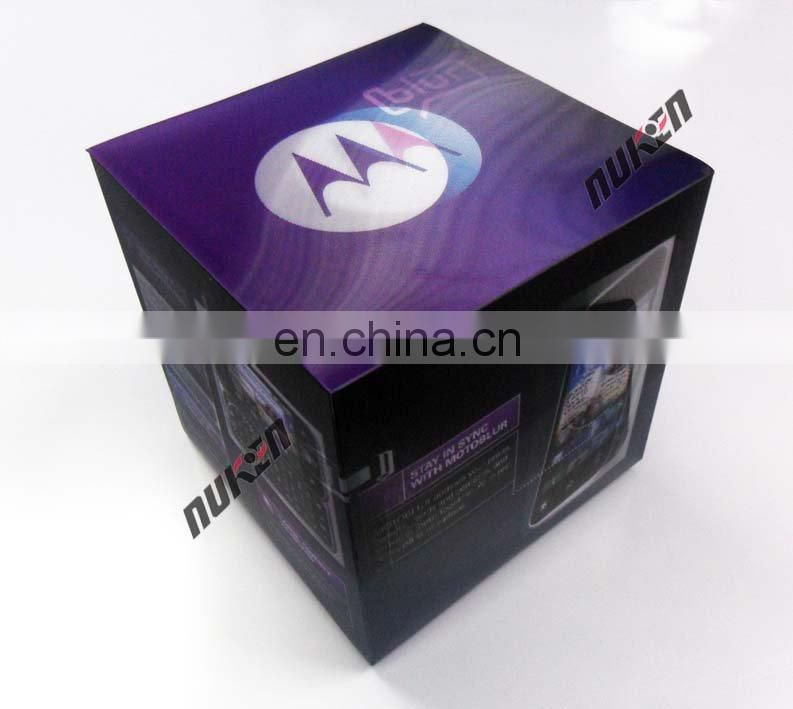 New design paper cosmetic 3d eyelash packaging box for promotional