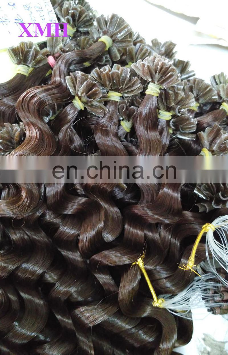 wholesale best quality nail tip fusion hair cheap hair extensions fast delivery