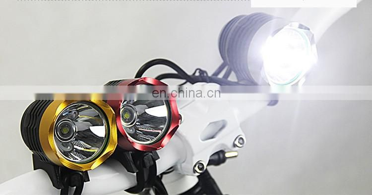 Waterproof 1 LEDs Bike light Lamp LED Cycling Bike Light/bike front light