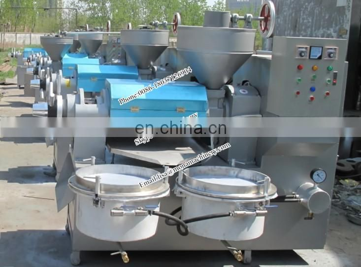 Hot soyabean oil press machine/used soybean oil cold press machine/new type automatic soy expeller