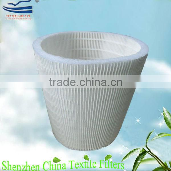 99.97% cylinder HEPA filter cartridge