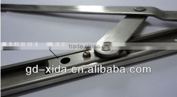 Stainless steel friction stay hinge for heavy duty glass & aluminium & upvc window and door accessories hinge