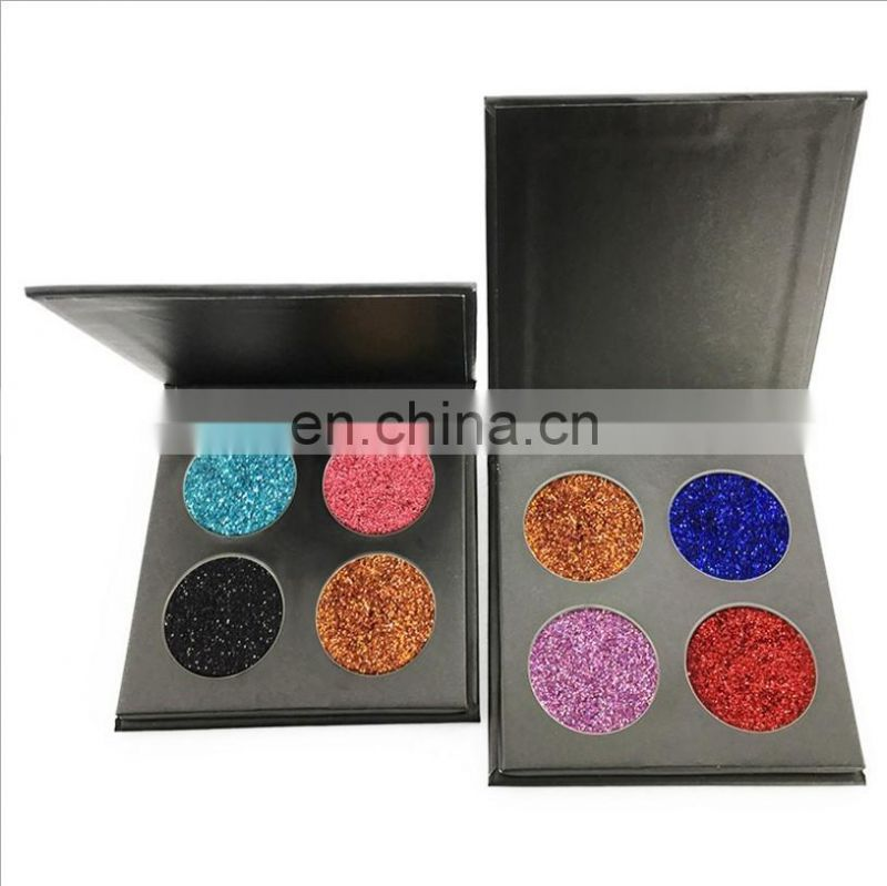 2017 hot sales make up 4 color pearl eye shadow private label eye shadow