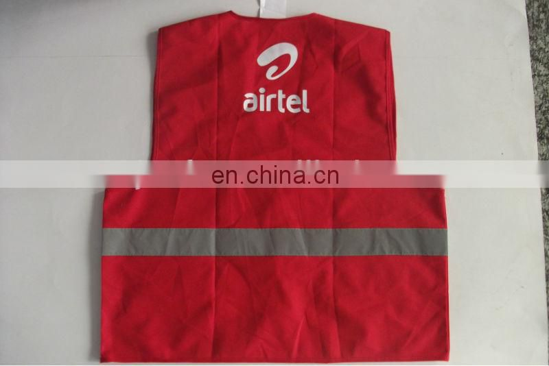 Red Safety Vest For Women/Giril